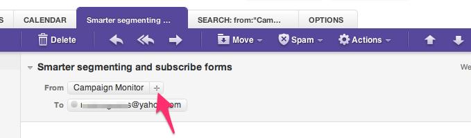 Yahoo Whitelisting